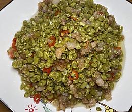 酸豆角炒肉末的做法