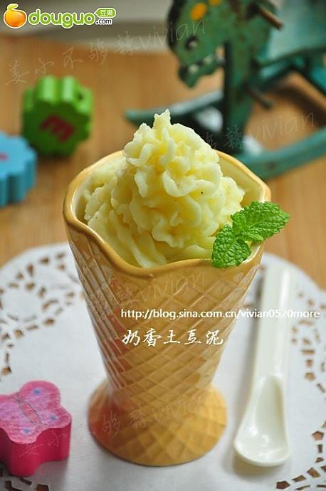 奶香土豆泥的做法