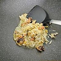 #快手又营养,我家的冬日必备菜品#咖喱真蟹黄豆腐的做法图解7