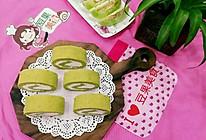 抹茶戚风蛋糕卷的做法