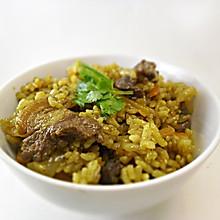 咖喱羊肉抓饭