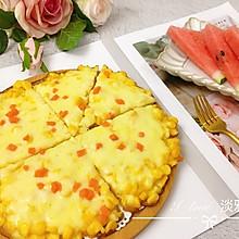 无需烤箱的披萨---芝士玉米烙