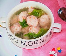 宝宝辅食~磷虾胡萝卜丸子汤的做法
