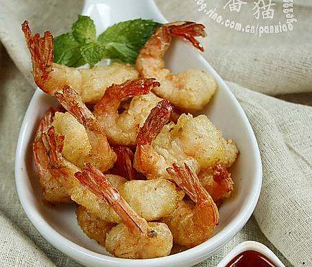软炸凤尾虾