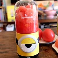 番茄柚子汁的做法图解4