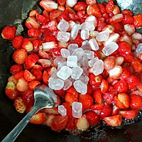 零添加剂~自制草莓果酱的做法图解5