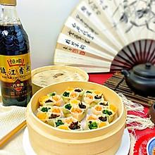四喜团圆蒸饺