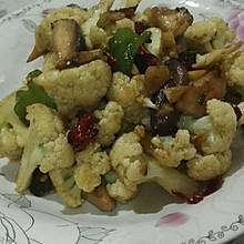 干煸香菇菜花