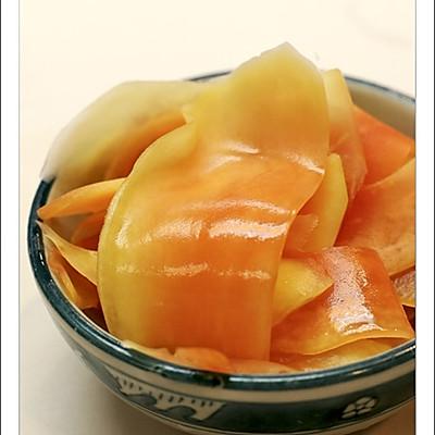 夏日泡菜--酸木瓜