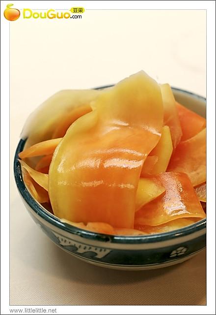 夏日泡菜--酸木瓜的做法