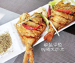 超香的椒盐平鱼的做法