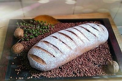红糖核桃面包