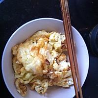 蒜苔炒鸡蛋的做法图解2