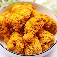 #精品菜谱挑战赛#不放一滴油的黄金炸鸡腿的做法图解24