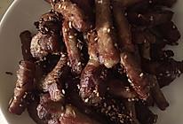 炒烤牛肉干的做法