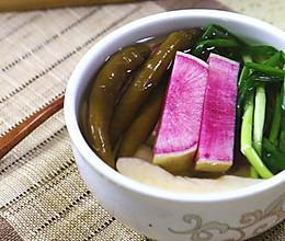 韩式萝卜水泡菜的做法