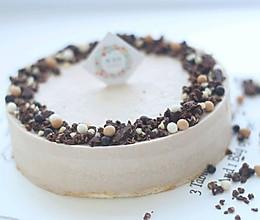 红茶棉花糖脆片慕斯+#有颜值的实力派#的做法