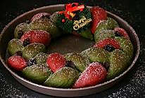 圣诞花环面包#安佳烘焙学院#的做法