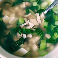 快手营养~青菜豆腐汤