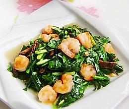 香菇韭菜虾仁的做法
