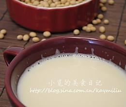 浓香豆浆的做法