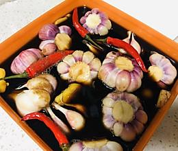 时令腌菜:腌糖蒜的做法
