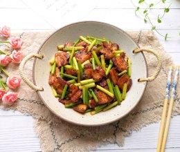 #肉食主义狂欢#蒜苔回锅肉的做法