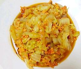 天津特色--虾酱炒大白菜(豆腐)的做法