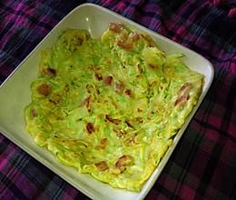 西葫芦火腿鸡蛋饼的做法