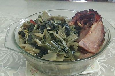 培根炖老坛酸菜