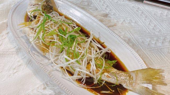 #助力高考营养餐#蒸烤箱美食【清蒸红古鱼】的做法
