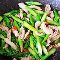 #精品菜谱挑战赛#芦笋炒肉的做法图解13