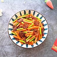 #元宵节美食大赏#胡萝卜炒腊肠的做法图解17