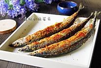 香煎麻辣秋刀鱼的做法