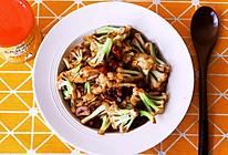 超级下饭菜之干锅菜花,麻辣鲜香,开胃爽口,下饭神器!的做法