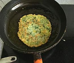 马齿苋鸡蛋煎饼的做法