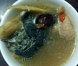 补气血乌鸡汤的做法