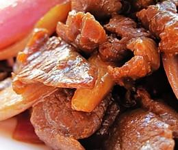 最平价的抗癌食物,洋葱——牛肉炒洋葱的做法