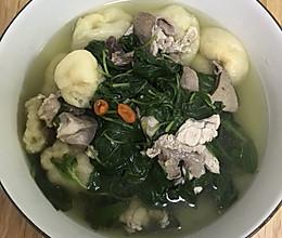 枸杞猪杂汤的做法