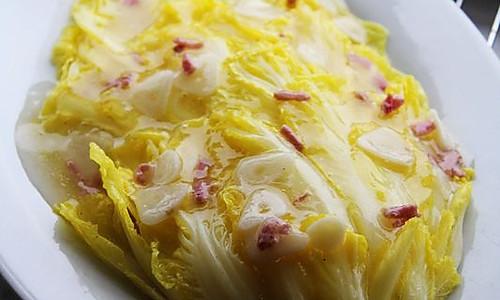 【珠玉白菜】平民版开水白菜也有春天。的做法