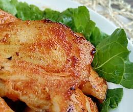 煎鸡胸肉~~不用烤箱的美味的做法