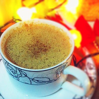 圣诞节饮品~【蛋酒伴咖啡】