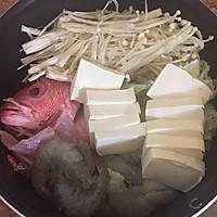 日式海鲜味增汤的做法图解2