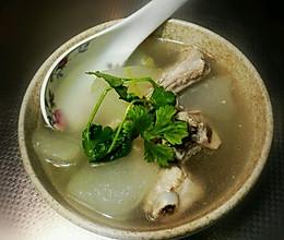 清甜口感,减脂祛湿的薏仁冬瓜排骨汤。的做法