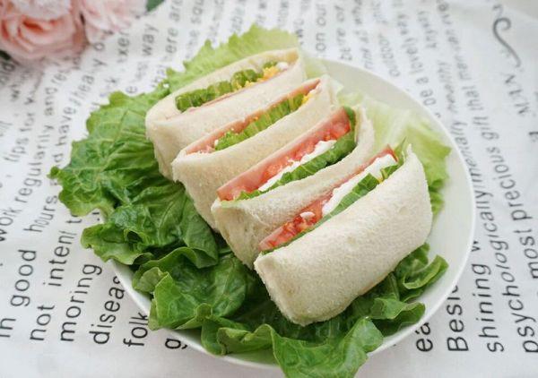 【简单营养美味】口袋三明治的做法