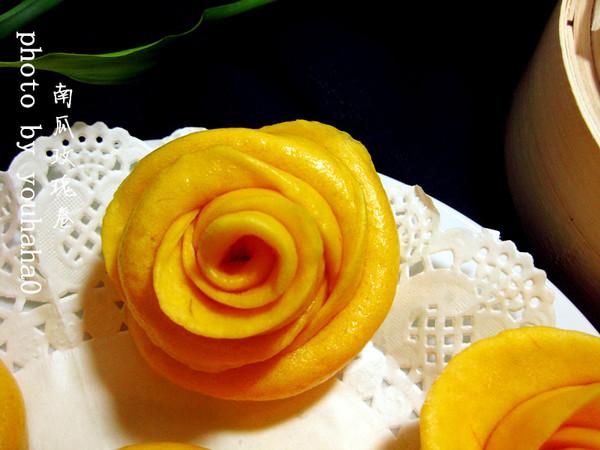 美貌如花--南瓜玫瑰卷的做法