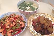 豆腐青菜汤的做法