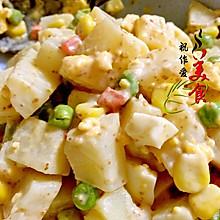 土豆色拉#丘比沙拉汁#