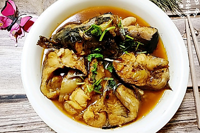清炖清江鱼,一人吃掉两碗饭