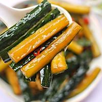 #520,美食撩动TA的心!#低脂爽脆开胃下饭的腌黄瓜条的做法图解18